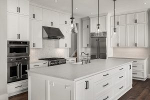 White and Modern Kitchen | Featured Image for Gold Coast Showroom