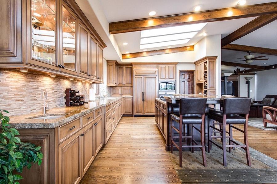 Beautiful timber kitchen | Kitchen U