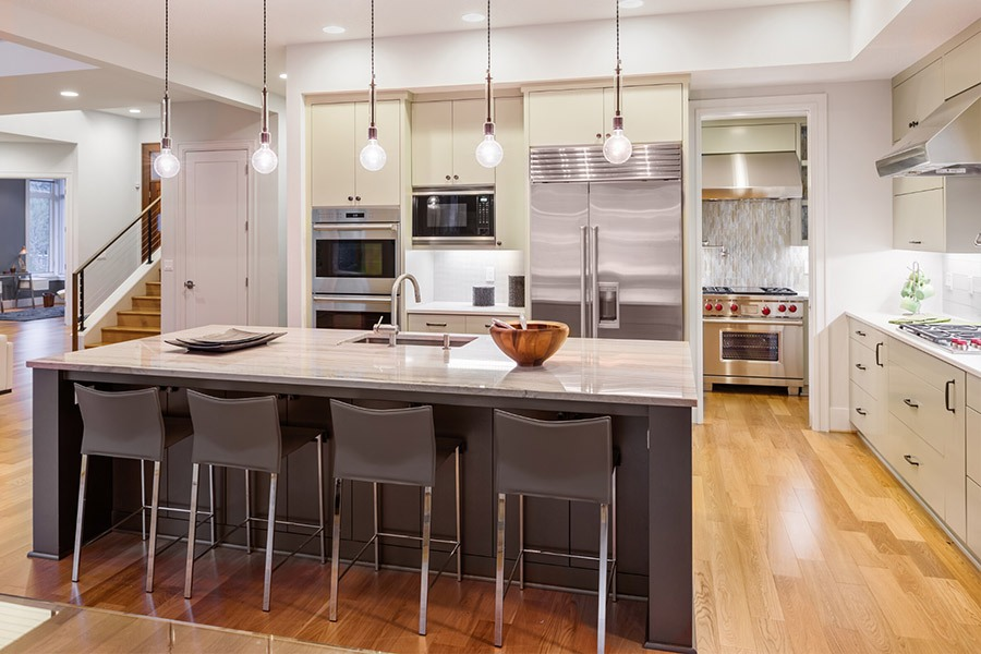 Well lit kitchen | Featured image for Cut To Size Kitchens