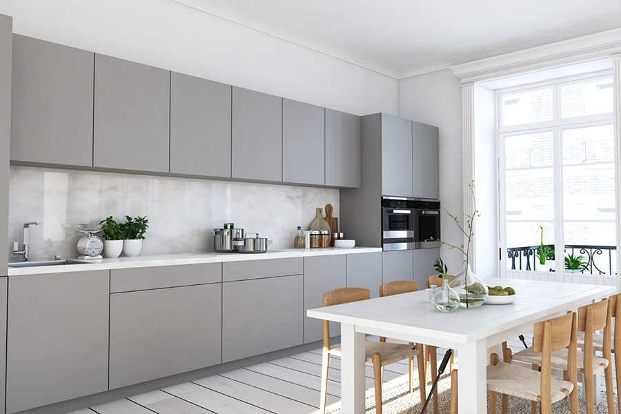 Image of stone coloured kitchen | Featured Image for Cut to Size